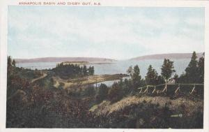 Annapolis Basin And Digby Gut, Nova Scotia, Canada, 1900-1910s