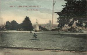 Auckland New Zealand Albert Park c1910 Postcard