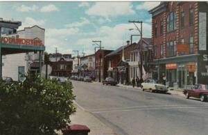 RIVIERE-DU-LOUP , Quebec , Canada , 50-60s ; Rue Lafontaine