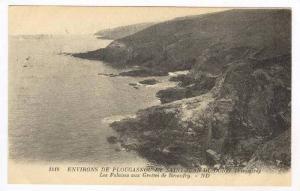 Finistère department , Bretagne, France. 00-10s : Les Falaises aux Grottes d...