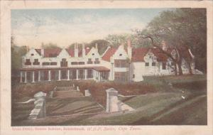 South Africa Rondebosch West Front Groote Schuur 1905