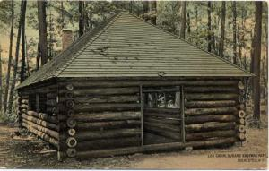 Durand Eastman Park Log Cabin - Rochester, New York - pm 1913 - DB