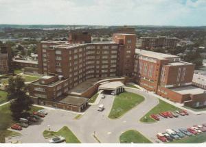 Aerial view,  Kitchener Waterloo Hospital,  Kitchener,  Ontario,  Canada,  50...