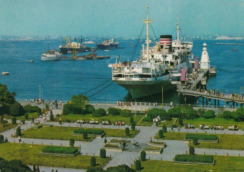 YOKOHAMA , Japan , 1970 ; Yamashita Park