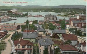 VICTORIA , B.C. , 1900-10s ; Looking West
