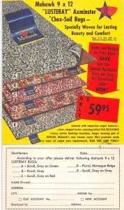 Kansas City Missouri Carl Davis Carpets and Rugs Tri-Fold Advertising PC J77486