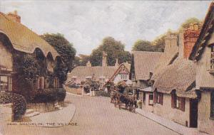 Horse Cart, The Village, Shanklin, Isle of Wight, England, 1900-10s
