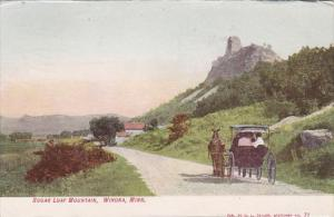 Minnesota Winona Sugar Loaf Mountain 1907