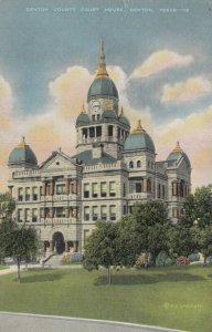 DENTON , Texas, 1930-40s ; Court House