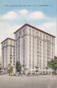 Exterior,  Hotel Hamilton,  N.W.,  Washington,  D.C.,  30-40s