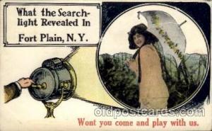 Fort Plain, NY USA Camera Post Card Postcard  Fort Plain, NY USA