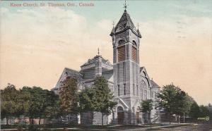 ST. THOMAS , Ontario , Canada , PU-1911 ; Knox Church