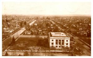 Oregon , Aerial View of Residence's,  Looking East, Salem .  RPC