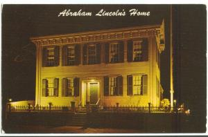 Night Scene, Abraham Lincoln's Home, Springfield Illinois