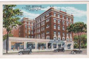 Illinois Chicago The Seville Apartment Hotel