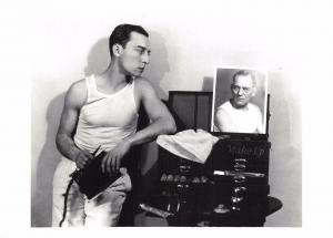 Postcard Actor BUSTER KEATON by Ruth Harriet Louise, MGM Studios #78