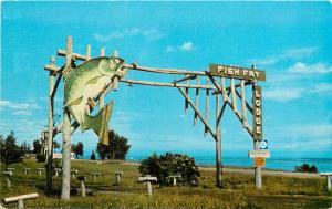 Fish Fry Lodge Minnesota Deluth Lake Superior MN Postcard