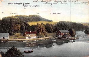 Sweden Old Vintage Antique Post Card Fran Sveriges Bygder 1906