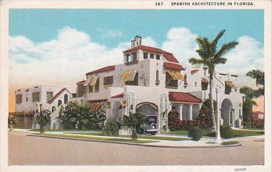 A Spanish Architecture In Florida