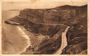 Llandudno Great Orme and Marine Drive Panorama Postcard