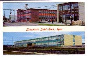 Federal Building, Gamache Superior School, Sept-Iles, Quebec,