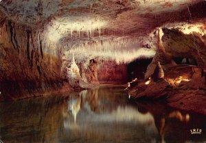 France Grotte de Choranche La Galerie des Fistuleuses Postcard