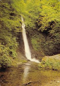 B102907 waterfall lydford gorge devon    uk