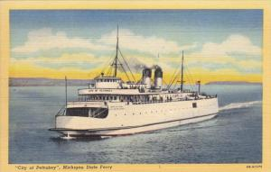 City of Petoskey , Michigan State Ferry , 30-40s