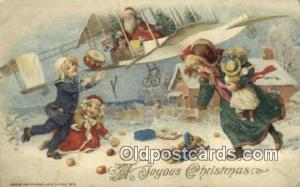 John Winsch Santa Claus Old Vintage Antique Postcard Post Card  John Winsch