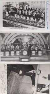 Ken Mackintosh & His Orchestra Music Hall Band Leader 3x Hand Signed Photo