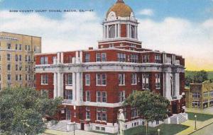 Air view, Bibb County Court House, Macon, Georgia, 30-40s