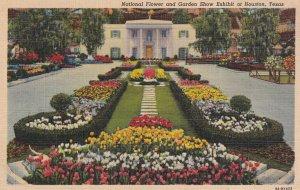 HOUSTON, Texas, PU-1944; National Flower And Garden Show Exhibit