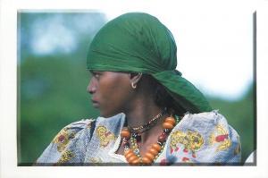 Femme Peul Peulh ethnic woman
