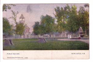 Public Square, Newcastle, New Brunswick, Warwick 1390