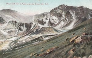 ARGENTINE CENTRAL RAILWAY, Colorado, 1900-10s; Gray's and Torry's Peaks