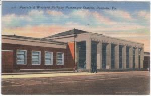 Virginia - Roanoke - Norfolk & Western RR Passenger Station