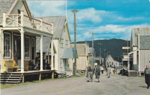 Main Street , Barkerville , B.C.  , Canada , 40-60s