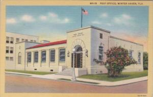 Florida Winter Haven Post Office Curteich