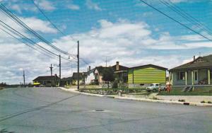 Residential Quarter, Baie Comeau, Saguenay,  Quebec,  Canada,  PU-40-60s