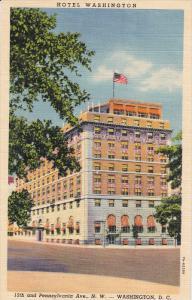 Hotel Washington, Pennsylvania Ave., WASHINGTON D.C., 20-30's