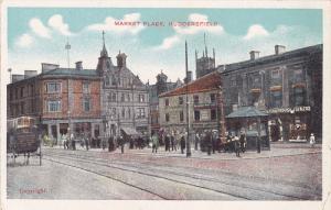 Market Place, HUDDERSFIELD (Yorkshire), England, UK, 1910-1920s