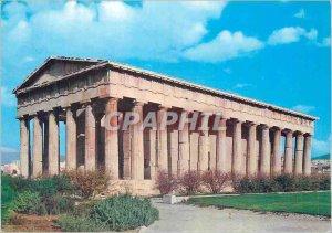 Postcard Modern Athens The Theseus (Temple of Hephaestos)