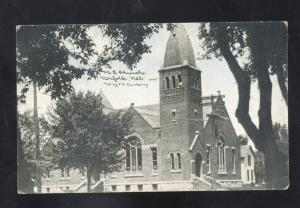 NORFOLK NEBRASKA METHODIST EPISCOPAL CHURCH ANTIQUE VINTAGE POSTCARD