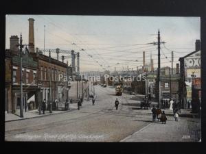 Cheshire STOCKPORT Wellington Road (North) c1905 Postcard By British Mirror