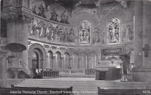 Interior Memorial Church , Stanford University , California , 00-10s