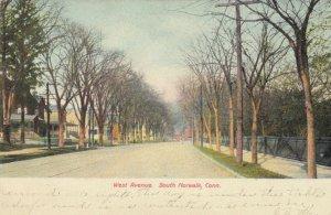 SOUTH NORWALK, Connecticut, 1906 ; West Avenue