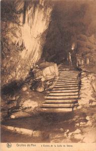 Belgium Grottes de Han L'Entree de la Salle du Dome CPA