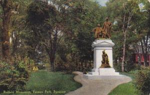 New York Syracuse Redfield Monument In Forman Park
