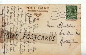 Genealogy Postcard - Hastilow - 192 Carlton Road - Nottingham - Ref 6390A