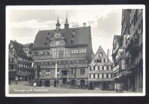RPPC TUBINGEN A.H. MARKTPLATZ VINTAGE GERMANY REAL PHOTO POSTCARD